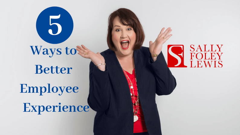 Blog Header 5 ways to better Employee Exp