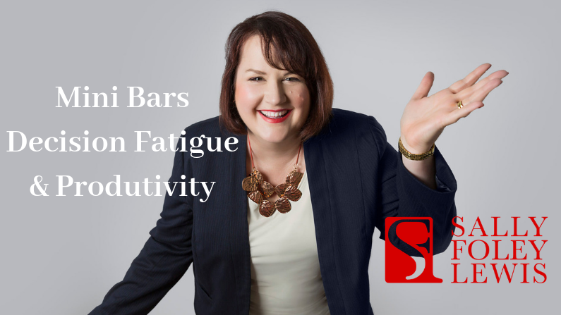 Blog Header Mini Bars and Decision Fatigue