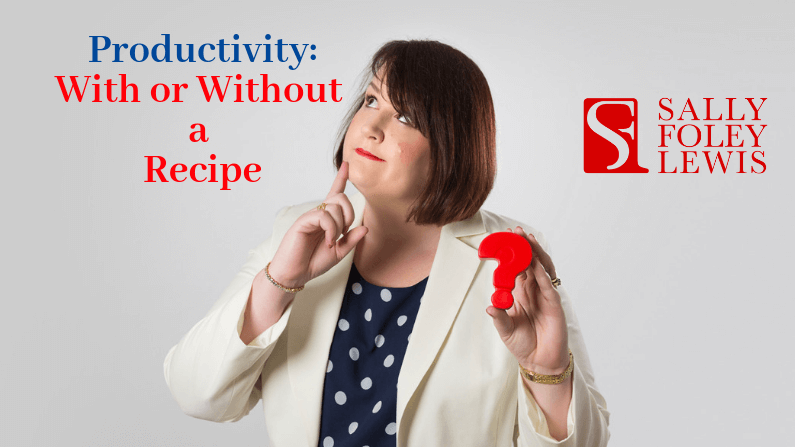 Productivity: with or without a recipe