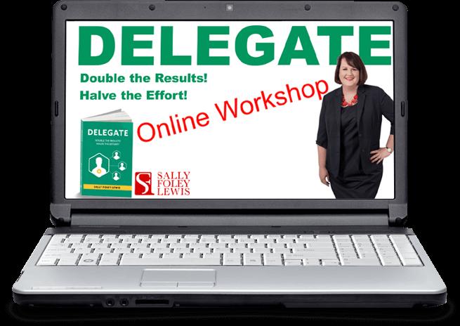 Online Delegation Workshop-laptop