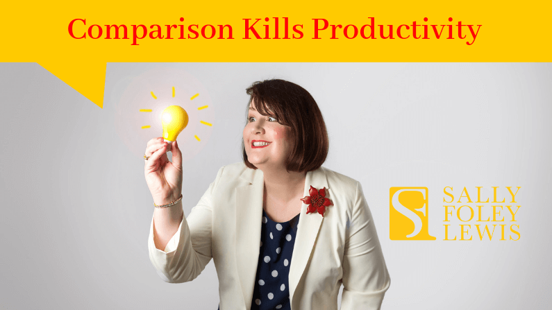 Blog Header Comparison Kills Productivity
