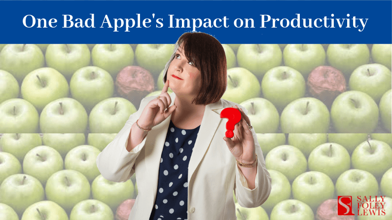 One Bad Apple's Impact on Productivity