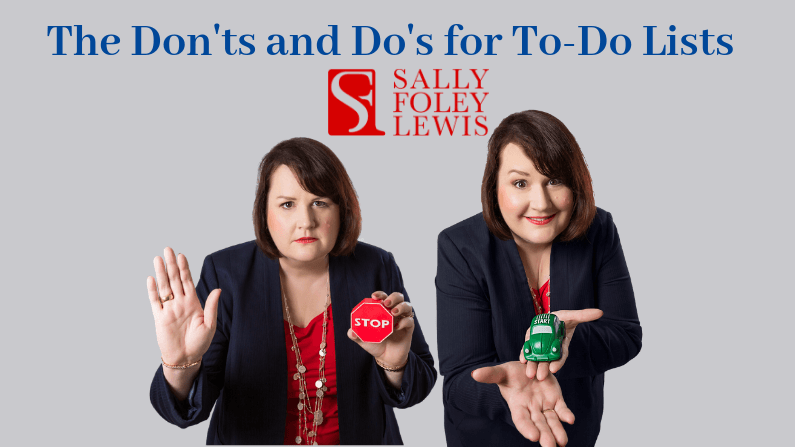 SFL Blog Header Dont and Do ToDo List