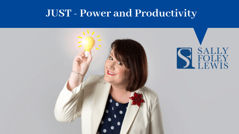 SFL Blog Header Just Power Productivity