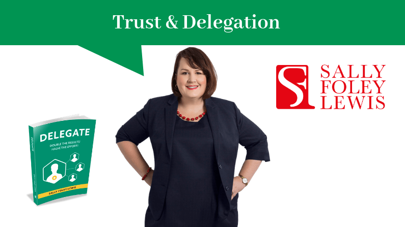 Trust Makes Delegation More Productive