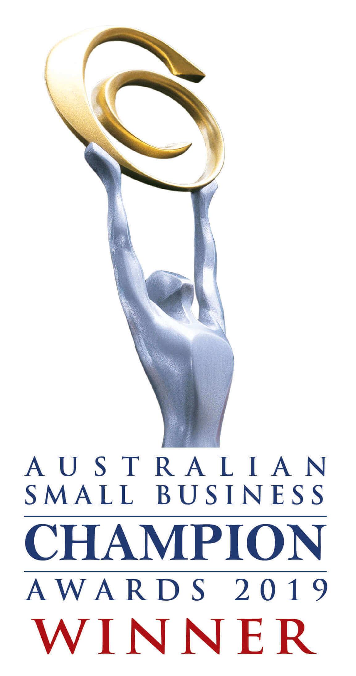 Small Business Award Winner 2019