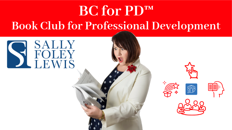 Logo for the Book Club for Professional Development