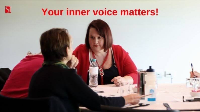 Your inner voice matters, can you hear it?
